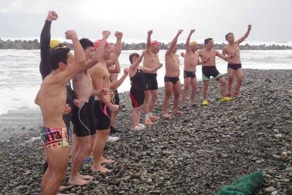 寒中水泳①